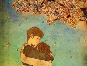 abrazo-de-una-pareja-con-un-arbol-de-fondo