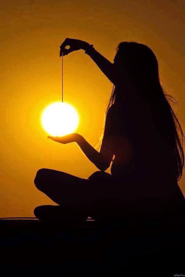 Jugando con el sol